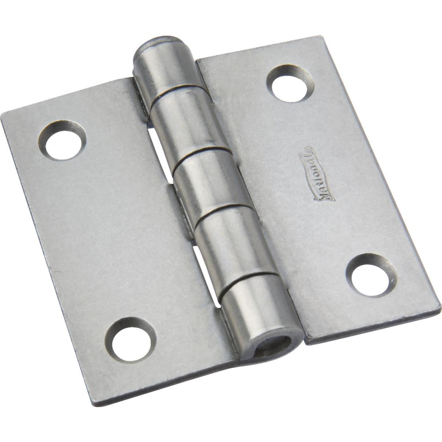 National 2 In. Square Plain Steel Broad Door Hinge Image 1