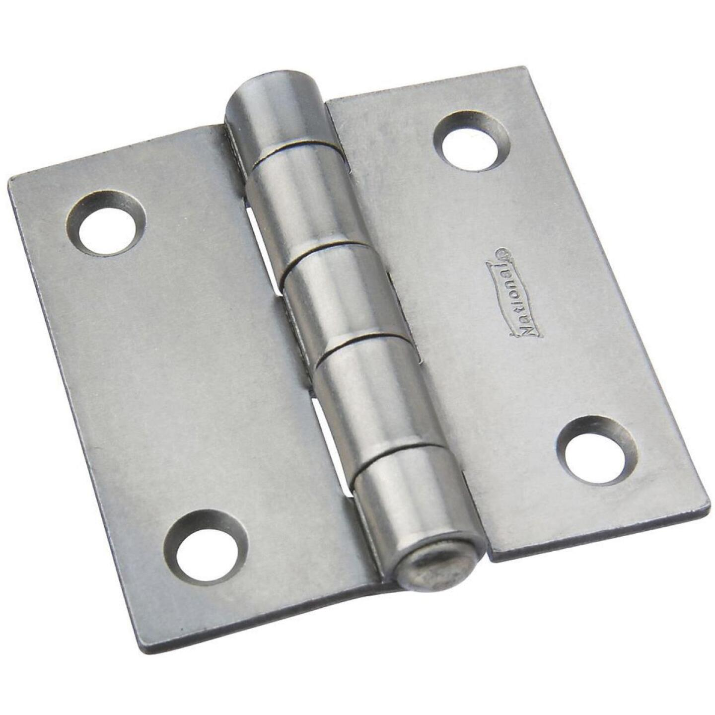 National 2 In. Square Steel Broad Door Hinge Image 1